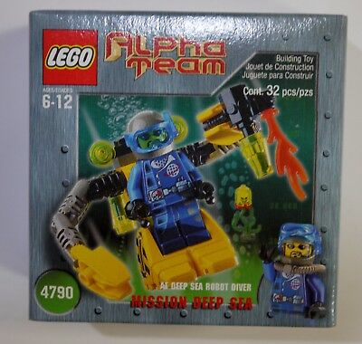 LEGO Alpha Team #4790 Alpha Team Robot Diver - Brand New Factory Sealed