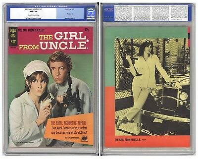 Girl From U.n.c.l.e. #1  Cgc Nm+ 9.6 - Highest Cgc Grade! - Very Old Label