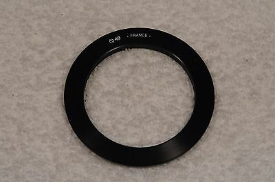 EXC++ GENUINE COKIN A SERIES 49mm ADAPTER RING, MADE IN FRANCE