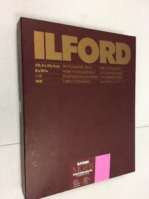 "Ilford MGFB Multigrade FB Warmtone 8"" x 10"" x 25 Glossy"