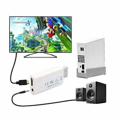 KCOOL Wii to HDMI Converter Output Video Audio Adapter