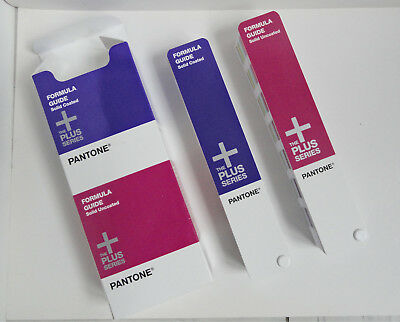 PANTONE FORMULA GUIDE Solid Uncoated & Solid Coated The Plus Series OVP GP1601N