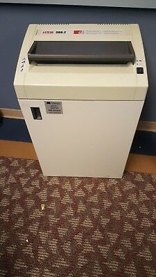 Used Paper Shredder - HSM Classic 386.2 Heavy Duty Floor Model