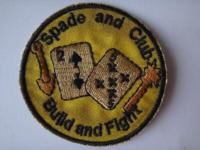 US Navy 25th Naval Mobile Construction Battalion BUILD AND FIGHT Patch