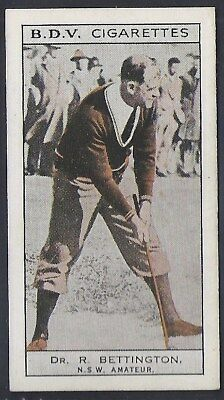 Phillips (Australia)-Whos Who In Sport (Double Sided)-#004- Bettington Lindrum