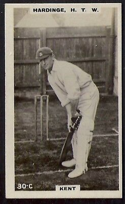 PHILLIPS-CRICKET ERS BROWN BACK F192-#030c- KENT - HARDINGE