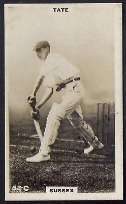 PHILLIPS-CRICKET ERS BROWN BACK F192-#082c- SUSSEX - TATE