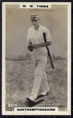 PHILLIPS-CRICKET ERS BROWN BACK F192-#211c- NORTHAMPTONSHIRE - TIMMS