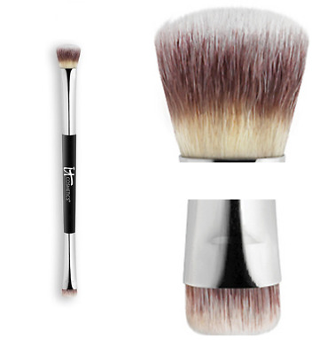 It Cosmetics Heavenly Luxe NoTug Dual Eyeshadow Brush #5 Double ended NEW Sealed