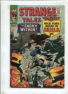 """Strange Tales #147 - """"the Enemy Within!""""- (8.0) 1966"""