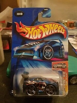 Hot Wheels 2004 first edition blings out a line