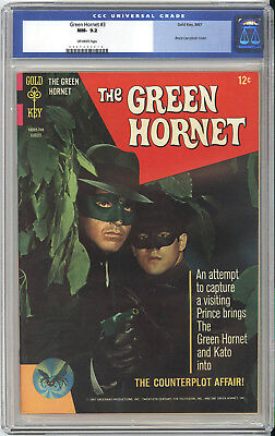 Green Hornet #3  Cgc Nm 9.2 - Fantastic Back Cover Variant Pin-Up - Bruce Lee!