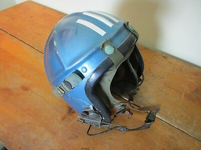 Wwii Korea Navy Flight Helmet Early Jet Fighter Pilot Football Style Named