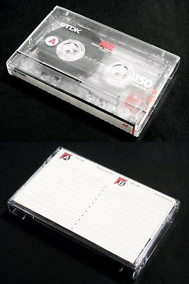 One(1) TDK cassette tape AE 150 Long play Japan version Very good condition