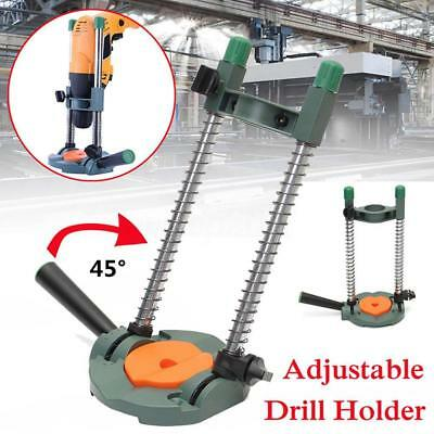 Adjustable Angle Drill Holder Guide Positioning Bracket for Electric Drill Pop