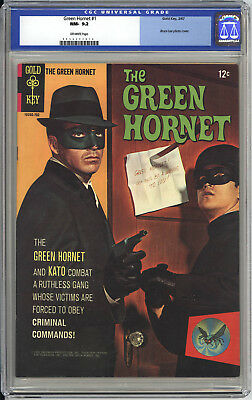 Green Hornet #1  Cgc Nm 9.2 - Fantastic Back Cover Variant Pin-Up - Bruce Lee!