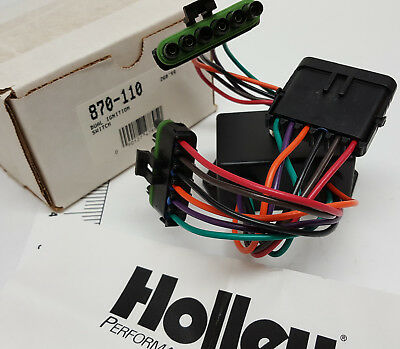 NOS Holley p/n 870-110 Circle Track 2X2 dual ignition switch in case of failure