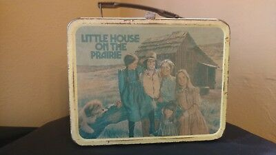 Vintage Little House On The Prairie Metal Lunch Box 1978 No Thermos - Used