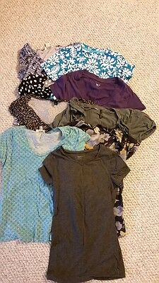 Collection of 9 Women's S and XS T-shirts and tops - Banana Republic, Gap, LOFT