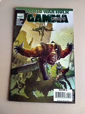 World War Hulk Gamma Corps 4 F+ Mission Accomplished Last Issue+30% Off Sale