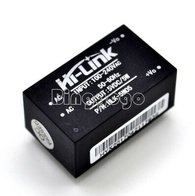 HLK-5M05 Compact Isolated Power Supply Switch Module 5W 1A AC-DC 220V to 5V