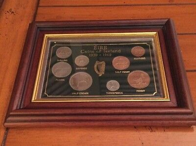 Eire Coins Of Ireland 1939-1969 No Reserve WS