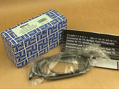 Nikon SC-18 Multy Flash Cord for TTL Flash MINT in the box - Free Shipping