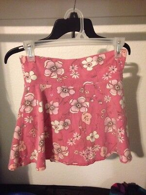 Pink Floral Skirt X Large KIDS/GIRLS PREOWNED