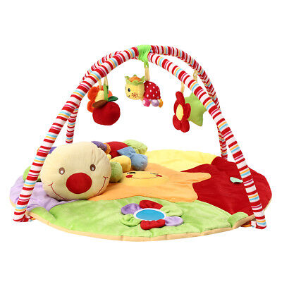 Baby Musical Star &Ladybug Play Mat Free Tummy Time Playmat Caterpillar Soft Toy