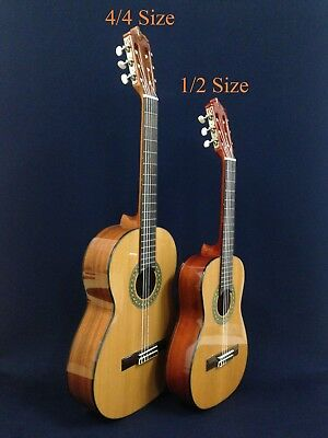 """34"""" Caraya 1/2 Size Nylon String Classical Guitar Pack w/Bag,Strap,Extra Strings"""