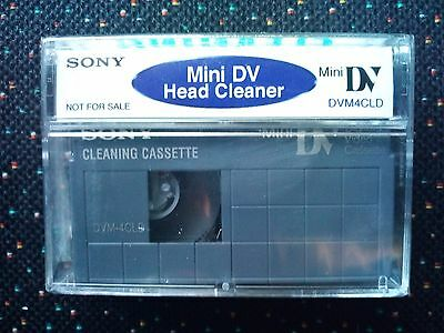Cleaning Cassette Sony MINI DV Camcorder  - DVM4-CLD