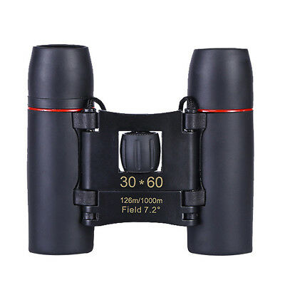 30x60 Zoom Day Night Vision Binoculars Outdoor Travel Folding Telescope with Bag