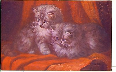 POSTCARD CATS The Two of Us