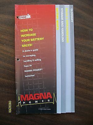 Original 1993 Case IH How To Increase Your Battery Sales Booklet