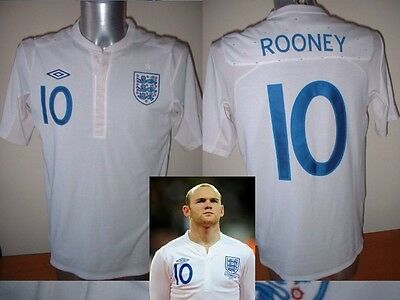 England ROONEY BNWT Adult M-XXL Man Utd Football Soccer Shirt Jersey Top 2010