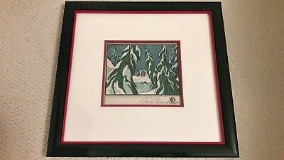 Warner Bros The Grinch that Stole Christmas Org Storyboard signed by Chuck Jones