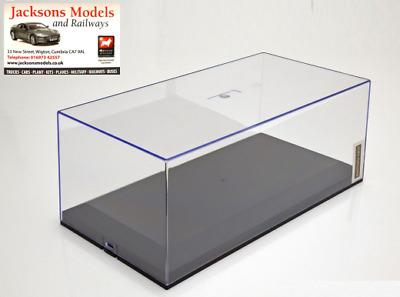 Exclusiv Cars 1:18 Scale Showcase Display Case with Plastic Base for Model Cars