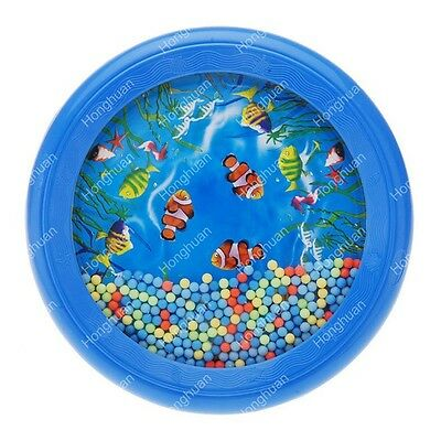 Ocean Wave Bead Drum Gentle Sea Sound Musical Educational Toy Tool for Baby S UK