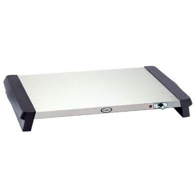 Cadco - WT-10S - 20 1/2 x 14 in Stainless Steel Countertop Warming Shelf