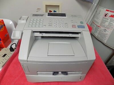 BROTHER Intellifax 4100e New Machine Never USED Printed TWO PAGES Read LISTING