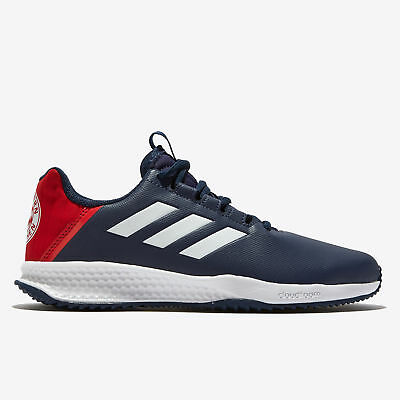 Bayern Munich Astro Turf Trainers Sports Shoess Shoes Navy Kids adidas