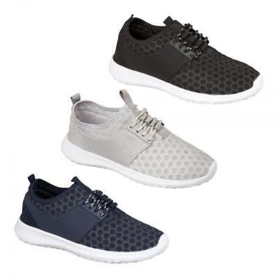 Shumo OASIS Ladies Womens Stylish Elasticated Slip On Sporty Trainers Shoes