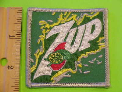 7 Up  Vintage Collectible  Soda Patch   Green Back Ground New  Free Shipping !!