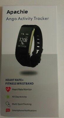ango activity fitness  tracker watch in white