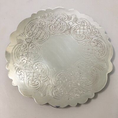 FB Rogers Silver Co Trivet Hot Plate Trade Mark 1883