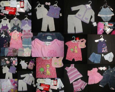 NEW Baby Girl Clothing 3-6 Months LOT NWT EUC designer Juicy Couture Naartijie