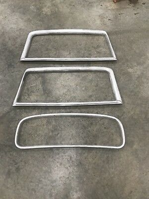 1932 Ford 3 Window Coupe Garnish Moldings, Standard Height