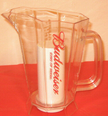 Budweiser Polar Pitcher New With Ice Chamber For Cold Beer