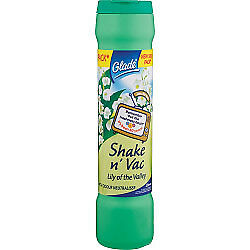 Glade Shake 'n' Vac 500gm Lily of the Valley