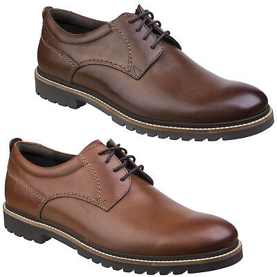 Rockport Marshall BOUT POINTU CUIR OXFORD CHAUSSURES à lacets habillées hommes
